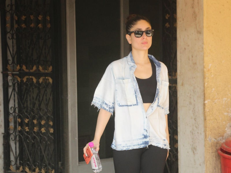 Kareena Looks Chic Even At The Gym