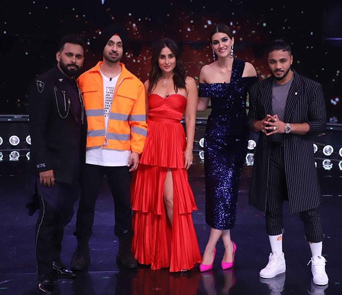'अर्जुन पटियाला' का प्रमोशन करने करीना के शो 'डांस इंडिया डांस' में पहुंचे दिलजीत