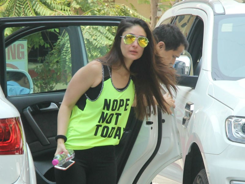 For Kareena Kapoor's Neon Tee, Sunglasses Alert