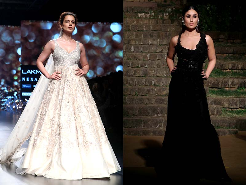 Kareena And Kangana Make Lakme Fashion Week Special