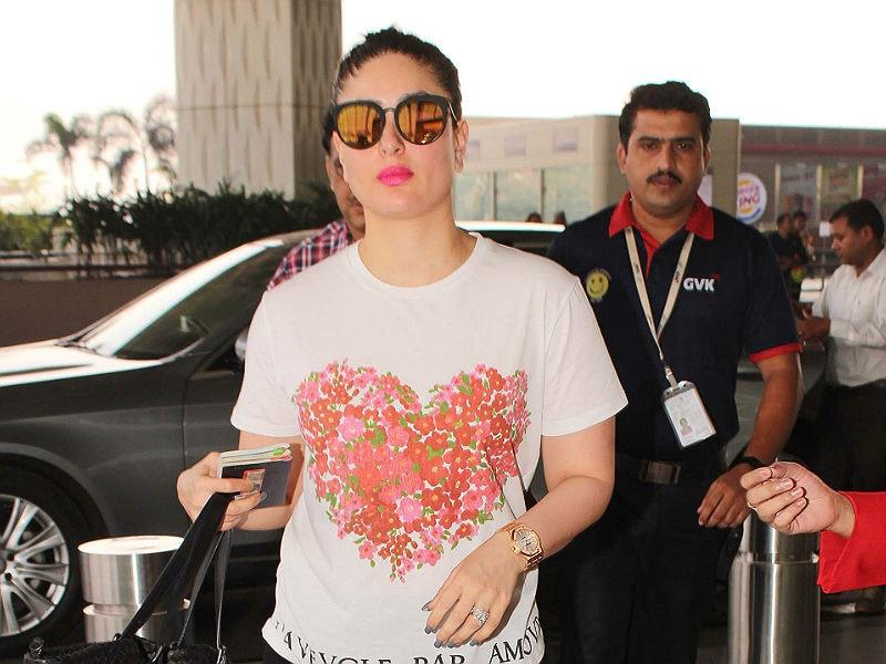 Photo : Kareena Kapoor Khan Wore Her Heart On Her Tee