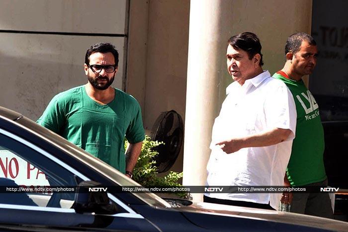 Karisma, Amrita, Saif Keep Mom Kareena Kapoor Company