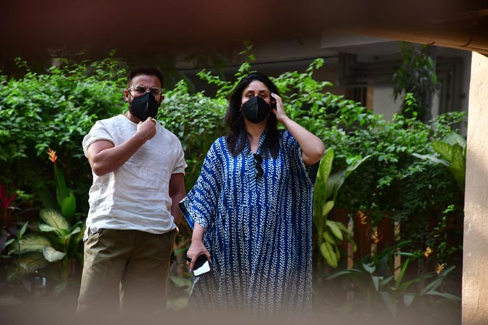 Kareena Kapoor And Saif Ali Khan Step Out Together For The First After Welcoming Baby Son
