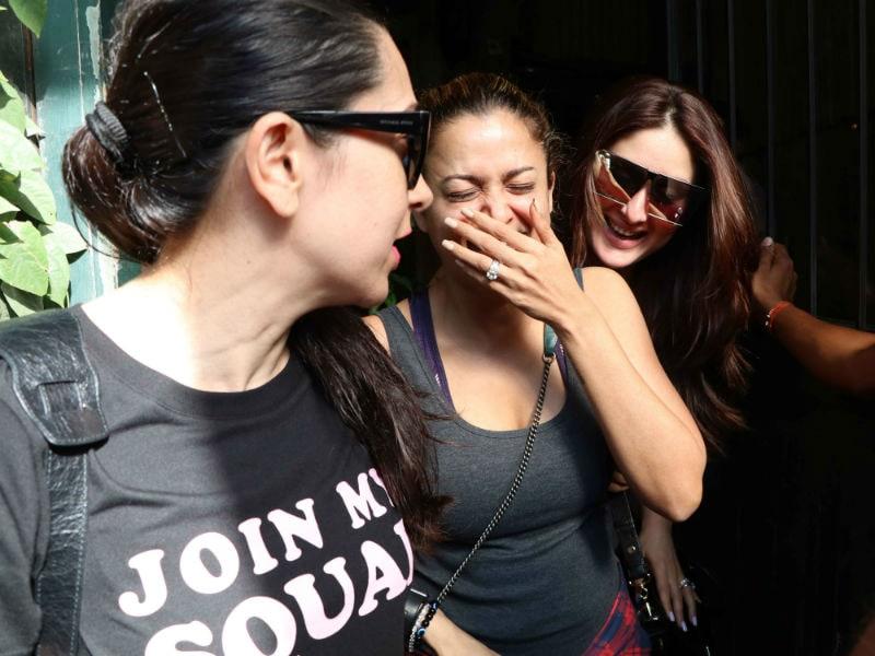 Kareena, Karisma And Amrita's Laughter Dose