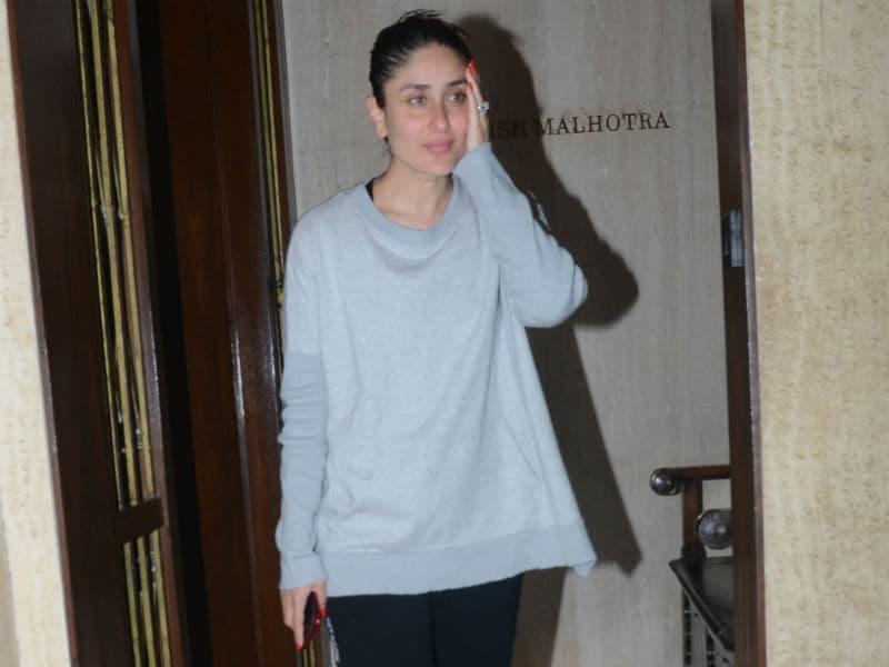 When In Mumbai, Kareena Parties With Karan Johar
