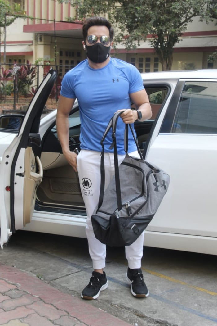 Keeping it fit, Emraan Hashmi was snapped at his gym in Bandra.