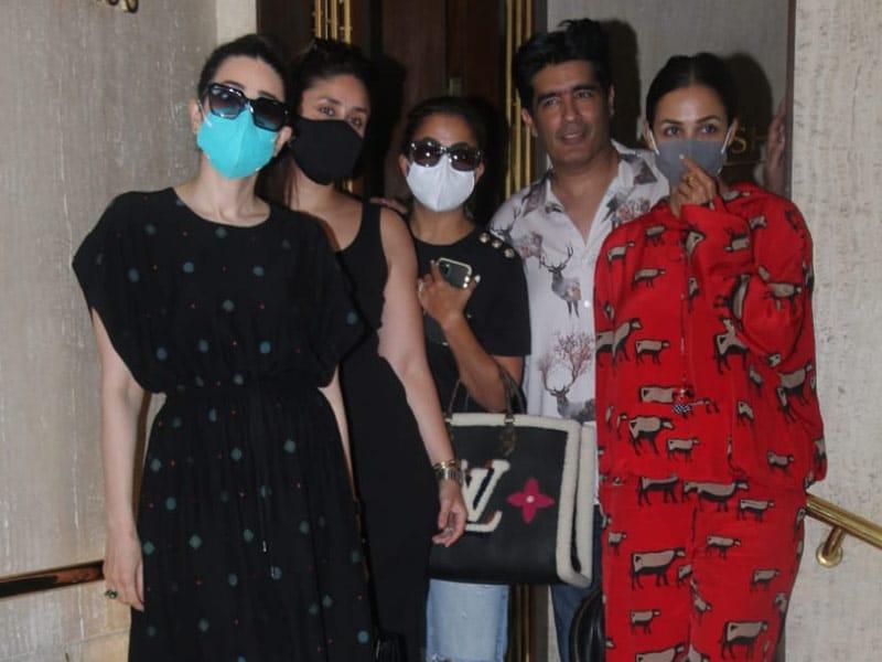 Photo : Kareena-Karisma, Malaika-Amrita's Reunion At Manish Malhotra's House