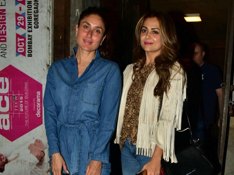 Photo : Inside Kareena And Amrita Arora's  Mid-Week Diaries