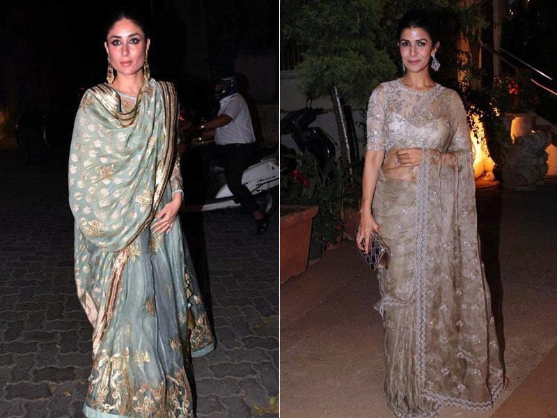 Kareena And Nimrat Rock The Traditional Look
