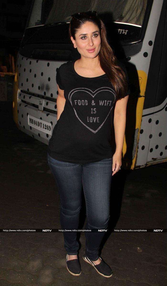 Mum-To-Be Kareena Kapoor Shines At Work