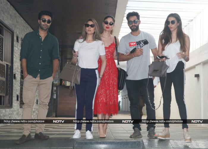 Kareena\'s Day Out With Cousins Riddhima, Armaan And Aadar