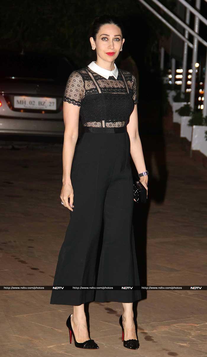 The Spotlight Followed Mom-To-Be Kareena At Kapoors Gathering