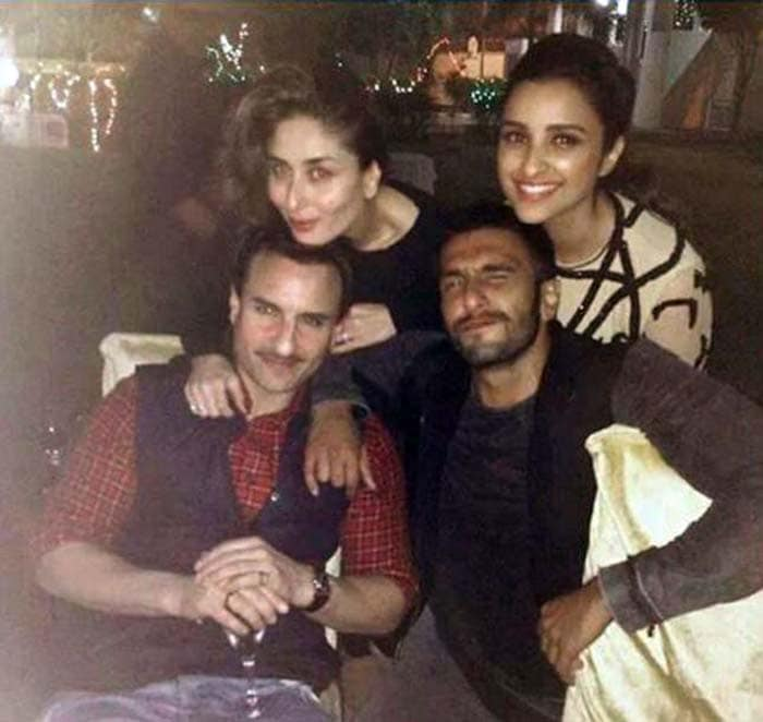 Kareena, Saif Are Party Hunters. Look Who All Were There