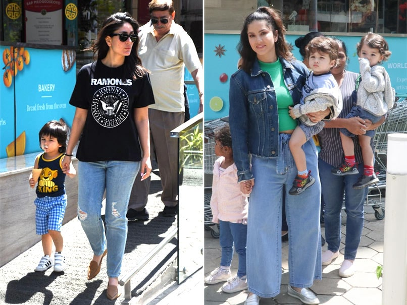 Kareena Kapoor And Sunny Leone Spent Sunday With Family