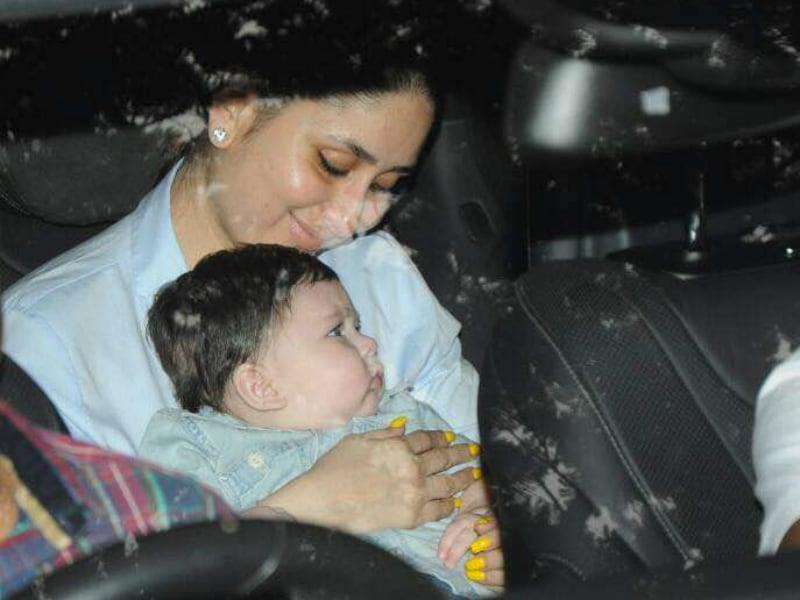 Photo : कहां पार्टी में बिजी हैं करीना और सैफ के बेटे तैमूर!