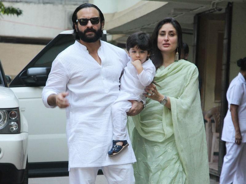 Inside Kareena, Saif And Taimur's Diwali Celebrations