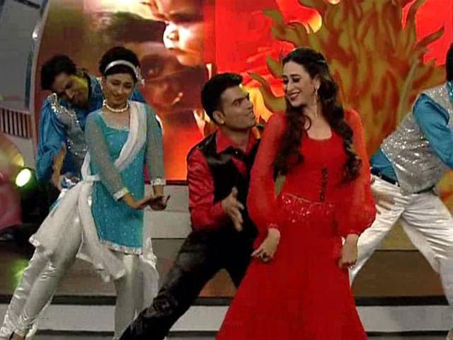 Karisma's dance tribute to the Kapoor women