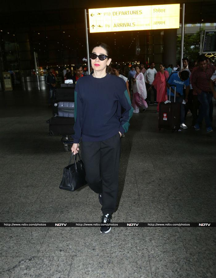 Karisma Ka Karishma At The Mumbai Airport
