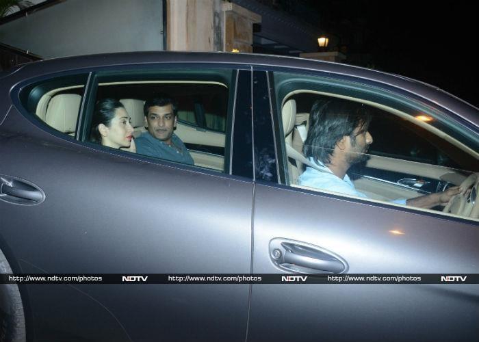 Karisma Dines With Kareena And Rumoured Boyfriend Sandeep Toshniwal