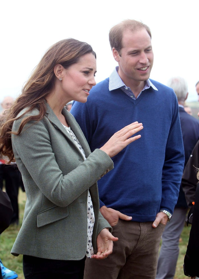 Mommy Kate makes first public appearance