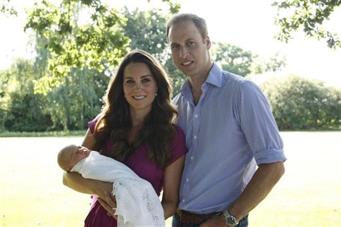 Prince George\'s first official portrait