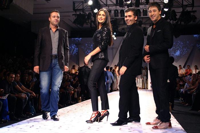 Katrina, Imran walk the ramp