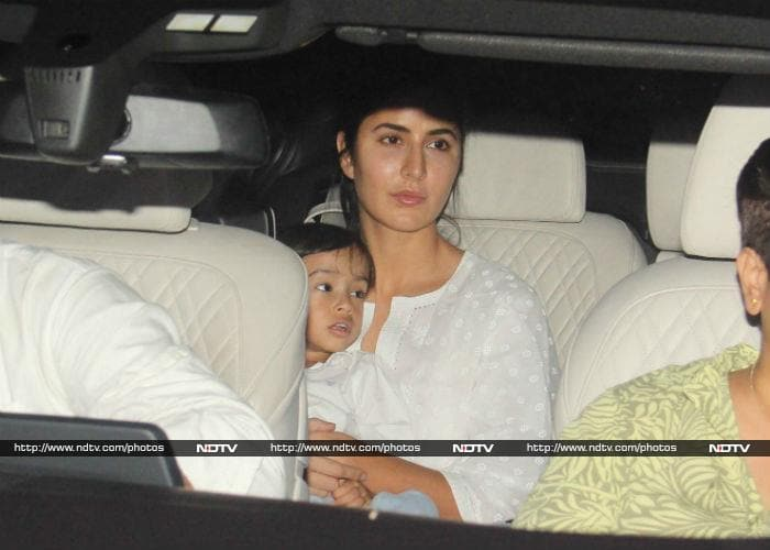 Katrina\'s Play Date With Baby Ahil