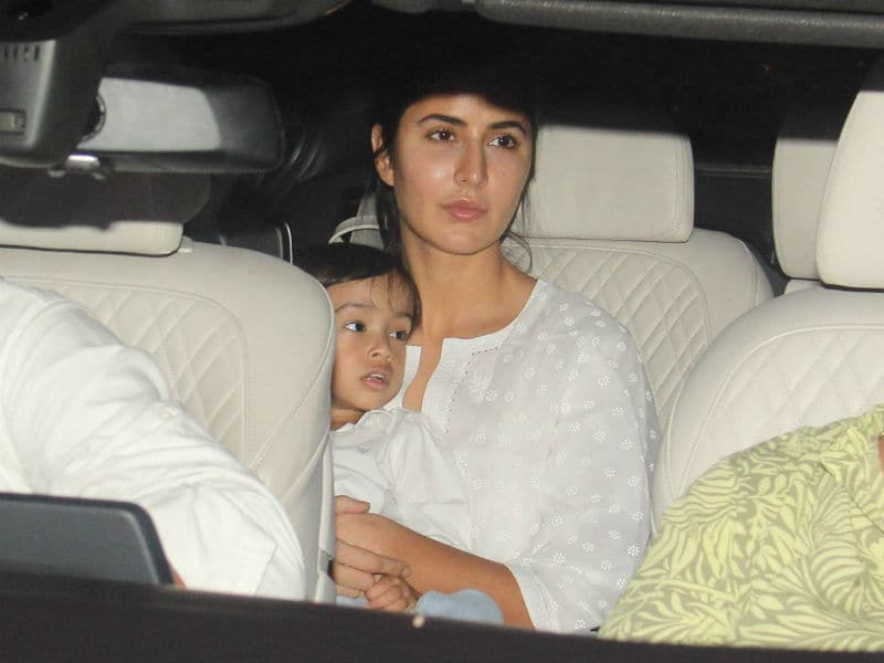 Katrina's Play Date With Baby Ahil