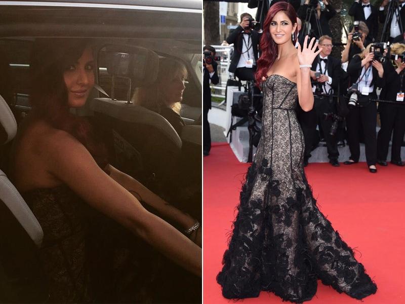 Katrina Makes Cannes Debut in Oscar de la Renta