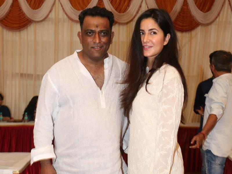 Katrina Kaif Attends Saraswati Puja With Jagga Jasoos Director Anurag Basu