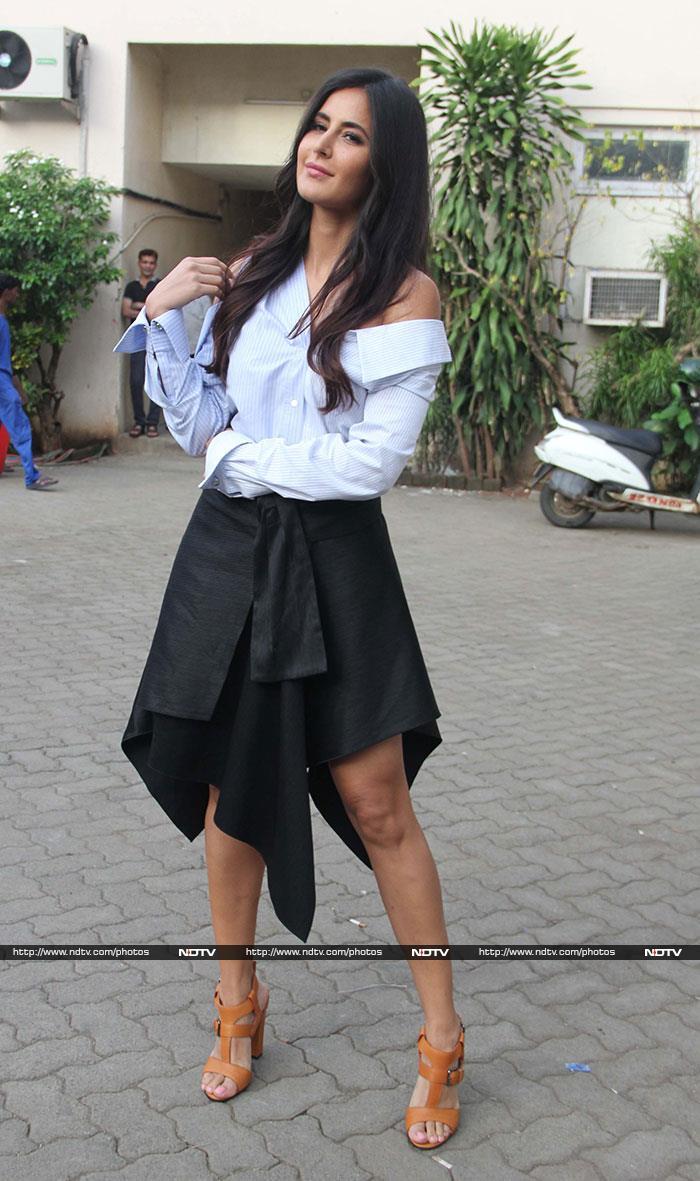 Katrina Outshines Jagga Jasoos Ranbir Looking Like This