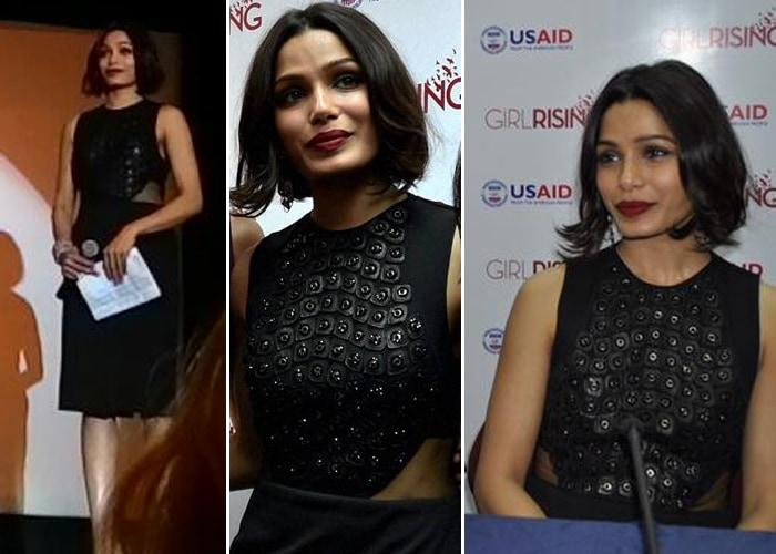 Girls Rising High On Style: Priyanka Chopra, Freida Pinto