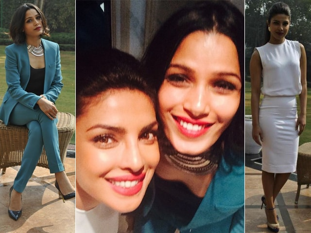 Girls Rising High On Style: Priyanka Chopra, Freida Pinto