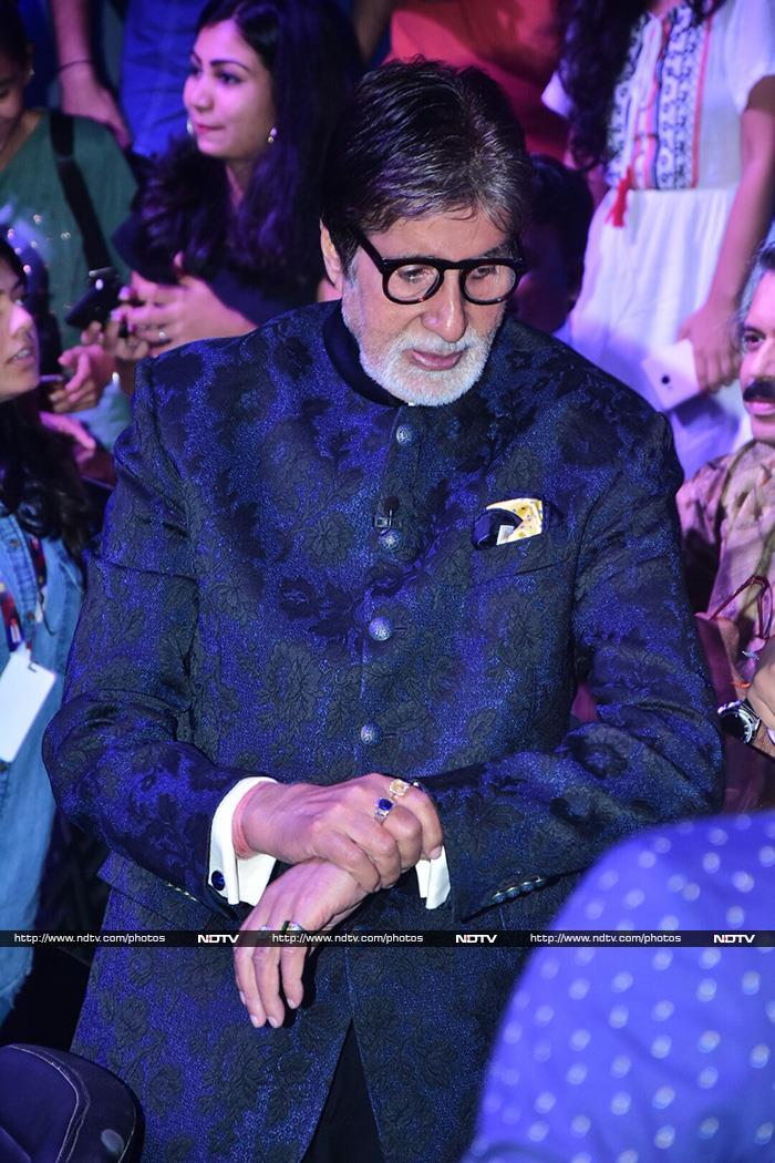 'कौन बनेगा करोड़पति' के सेट पर पहुंचे अमिताभ बच्चन