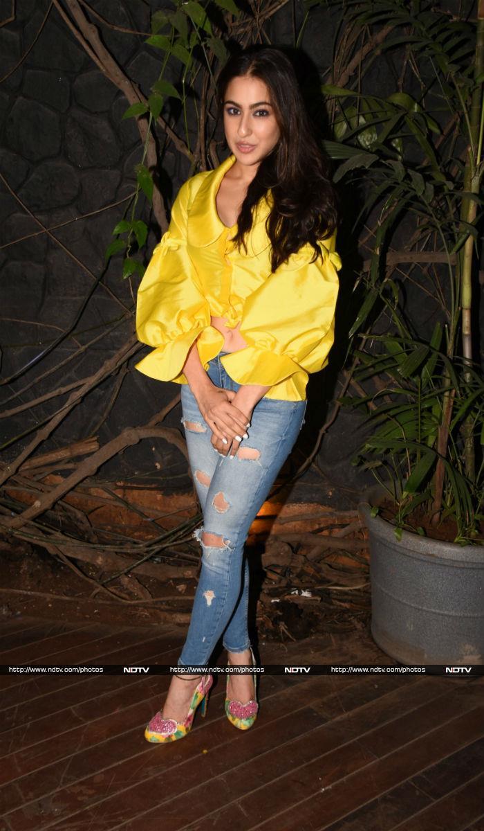 Hello Miss Sunshine, Sara Ali Khan. Yellow Suits You