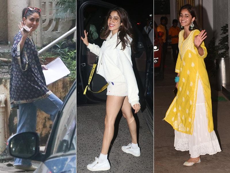 Keeping Up With Kareena, Janhvi And Ananya