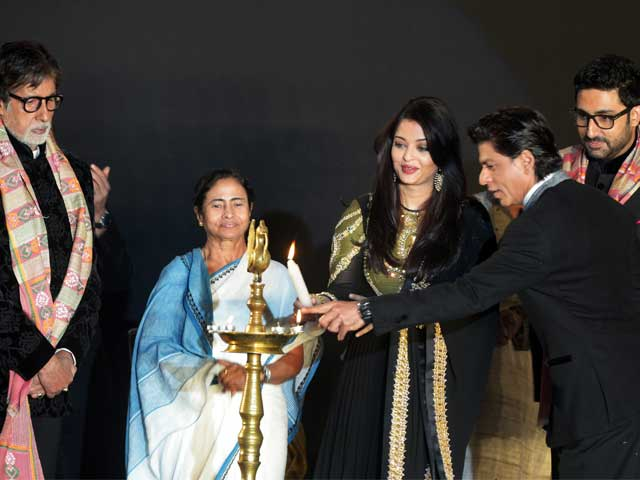 SRK, Bachchans Head Starry Line-Up At Kolkata Film Festival