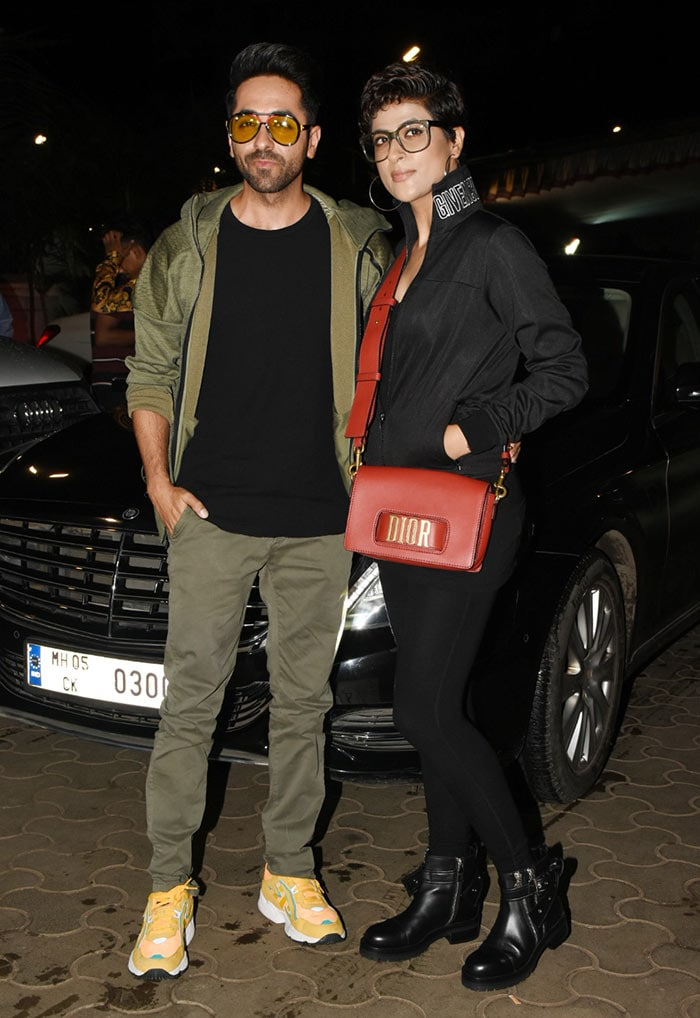 Sonakshi Sinha Hosts Special Screening For Ayushmann, Tahira And Other Friends