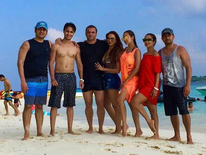 Maldives Welcomes Malaika Arora And The Khans