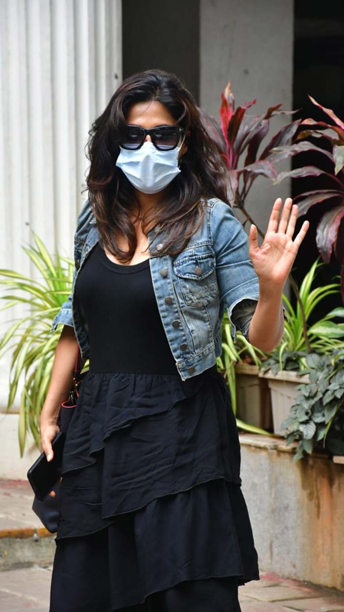 Chitrangada Singh was photographed outside a dental clinic in Bandra.