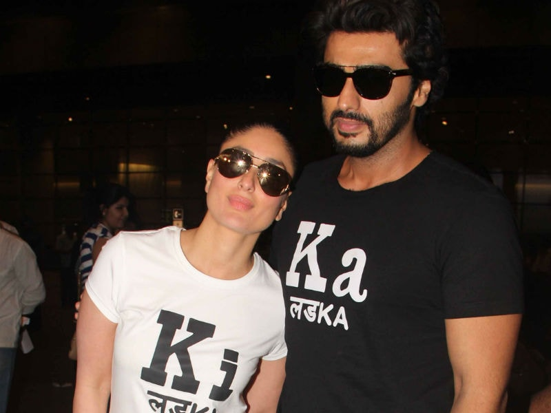 Ek LadKi And Ek LadKa: Kareena, Arjun at the Airport
