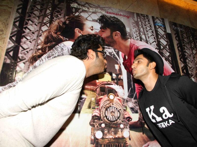 Gunday Boys Ranveer and Arjun Share a Ki And Ka Moment