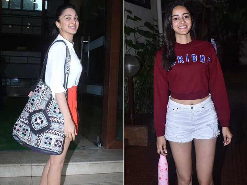 When Kiara Advani And Ananya Panday Step Out In Mumbai