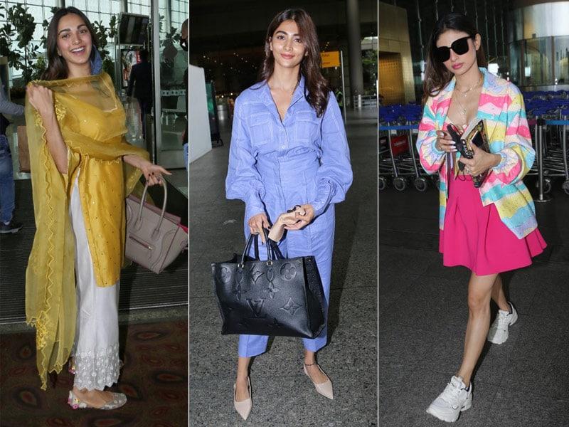 Photo : We Love Kiara Advani, Mouni Roy And Pooja Hegde's Airport Style