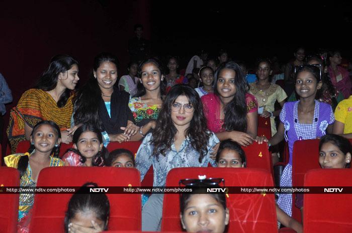 Priyanka, Karisma are all heart