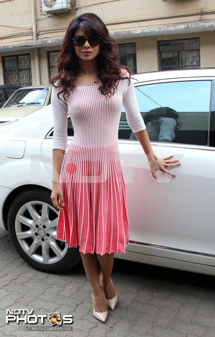 Pretty in pink: Priyanka, Aditi