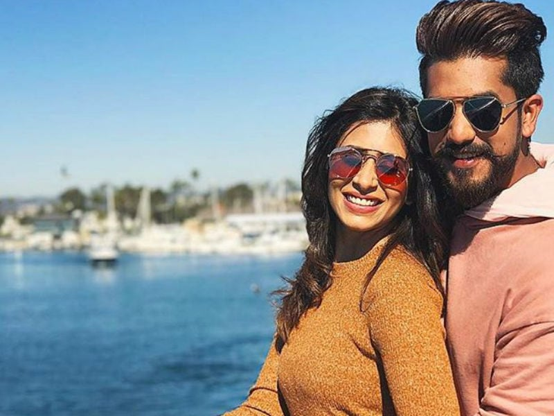 Kishwer And Suyyash Rai Make First Official Appearance As Mr And Mrs
