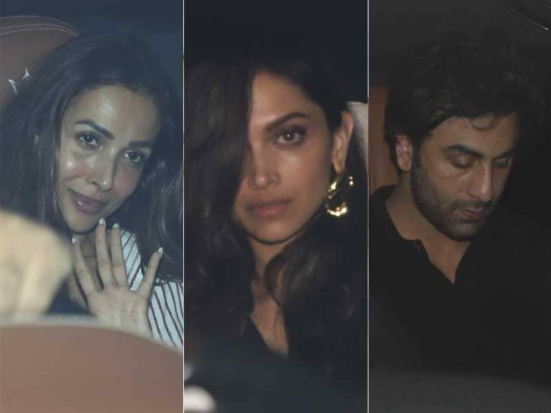 Deepika, Ranbir, Malaika, Arjun Set Weekend Goals