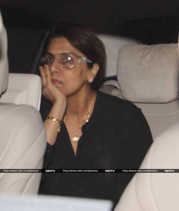 Katrina Kaif Joins Ranbir Kapoor and His Family for Dinner