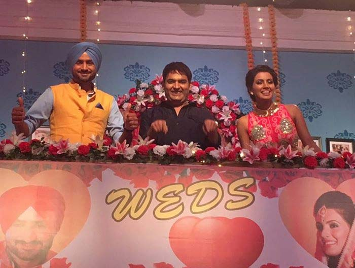 Harbhajan, Geeta\'s Comedy Ki Raat